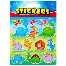 Dinosaur Stickers Cute - Pack of 72