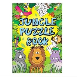 Jungle Puzzle Fun Book - 16pp - Pack of 48