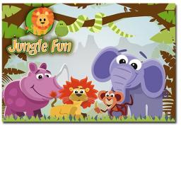JUNGLE FUN WALLET - Pack of 500 - MP3441