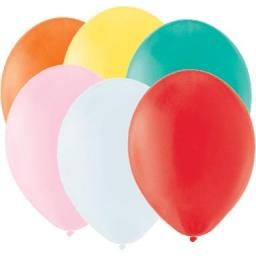 Latex Balloons - Assorted Colours - Pack of 100