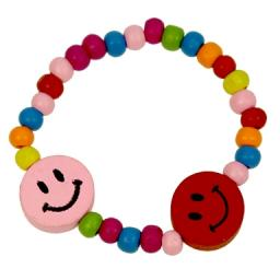 Wood Smile Bracelet - Pack of 144