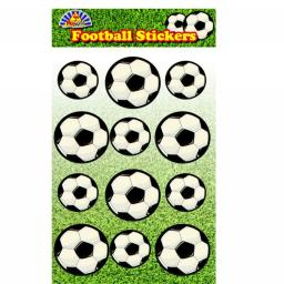 Football Stickers - Pack of 72