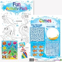 SEALIFE FUN ACTIVITY Pack - Pack of 100 - MP2627