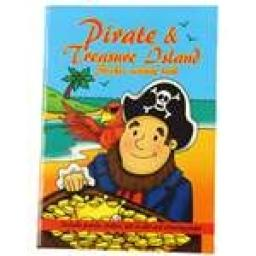 Pirate Treasure Island Sticker Activity Book - Pack of 100