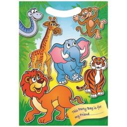 Zoo Animal Party Bag - Pack of 100
