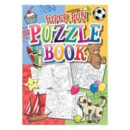 Super Fun Puzzle Book - 16pp - Pack of 48