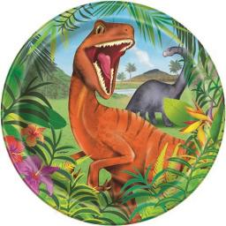 Dinosaur Plates - Pack of 8