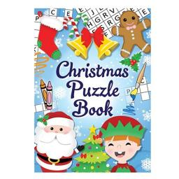 Christmas Puzzle Book - 16pp - Pack of 48