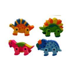 Dinosaur Jointed Eraser - Pack of 72
