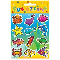 Sealife Stickers - Pack of 120