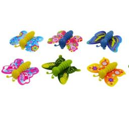 Butterfly with Keyspring - Pack of 60