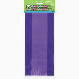 Cello Bag - Purple - 6 packs of 30