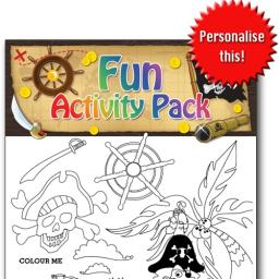 PIRATE FUN ACTIVITY Pack - Pack of 100 - MP2691