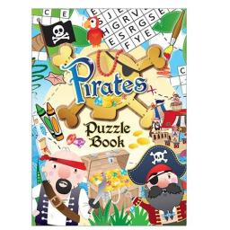 Pirate Puzzle Fun Book - 16pp - Pack of 48