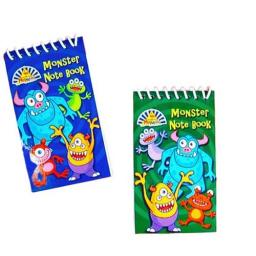 Monster Spiral Notepad - Pack of 120