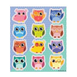 Owl Stickers - Pack of 120