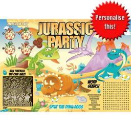 DINOSAUR ACTIVITY PLACE MAT - A4 - Pack of 500
