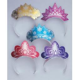 Glitter Shaped Tiara - Pack of 50