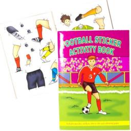 Football Sticker Activity Book - Pack of 100