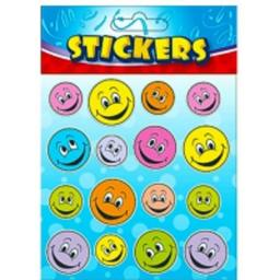Happy Face Stickers - Pack of 72