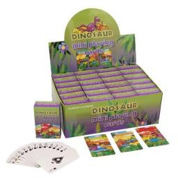 Dinosaur Mini Playing Cards - Pack of 24