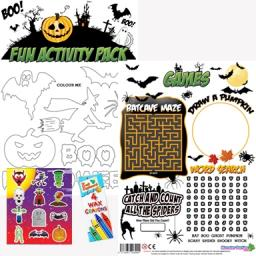 HALLOWEEN FUN ACTIVITY Pack - Pack of 100 - MP2745