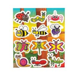 Insect Stickers - Pack of 120