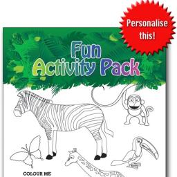 JUNGLE FUN ACTIVITY Pack - Pack of 100 - MP2651