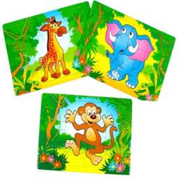 Zoo Animal Puzzle (Small) - Pack of 120
