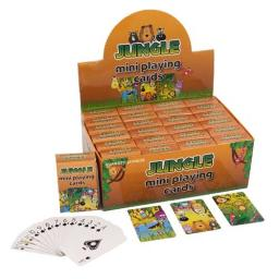 Jungle Mini Playing Cards - Pack of 24