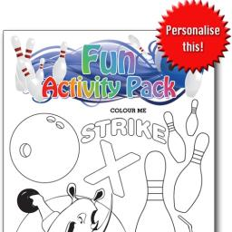 BOWLING FUN ACTIVITY Pack - Pack of 100 - MP2694