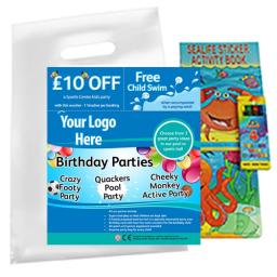 Personalised Party Bag - Sports 2 - Box of 200