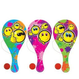 Smiley Face Biff Bat - Pack of 48