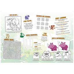 Jungle Themed A3 Activity - Pack of 250