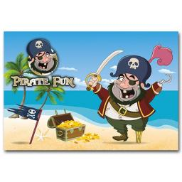 PIRATE FUN WALLET - Pack of 500 - MP3444