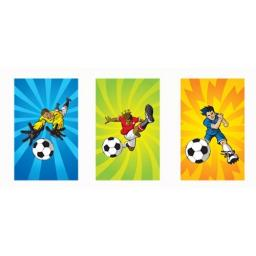 Football Mini Notepad - Pack of 168