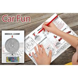 Car Themed A3 Activity - Pack of 250
