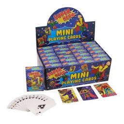 Superhero Mini Playing Cards - Pack of 24