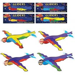 Superhero Glider - Pack of 48
