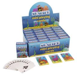 Sealife Mini Playing Cards - Pack of 24