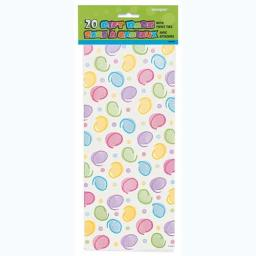 Cello Bag - Polka Dot - 6 packs of 20