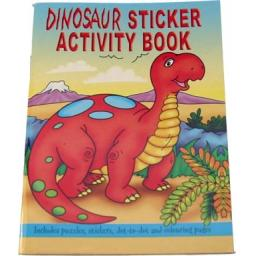 Dinosaur Sticker Activity Book - Pack of 100