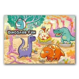 DINOSAUR FUN WALLET - Pack of 500 - MP3447