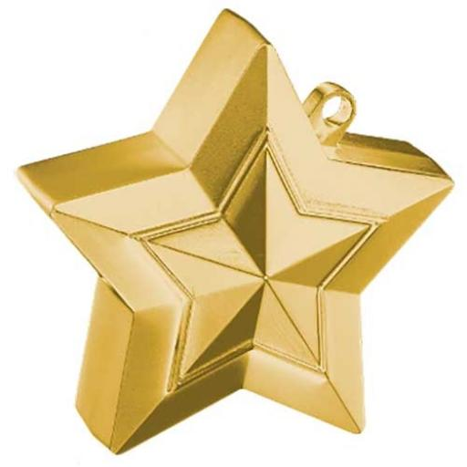 Star Balloon Weight Gold