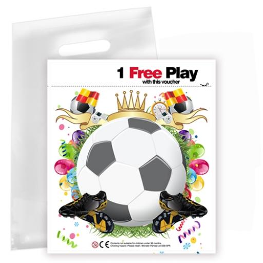 Personalised Party Bag - Football - Box of 200