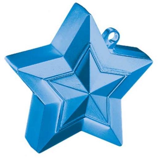 Star Balloon Weight Sapphire Blue
