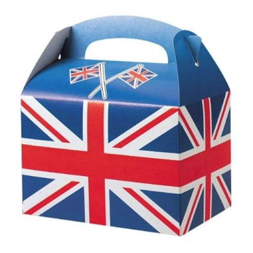 Union Jack Party Box - Pack of 50