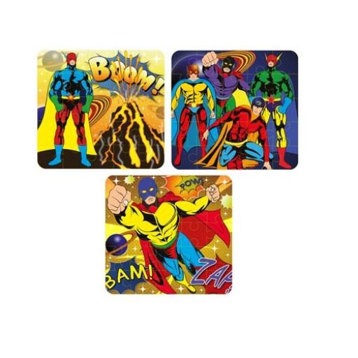 Superhero Puzzle - Pack of 108