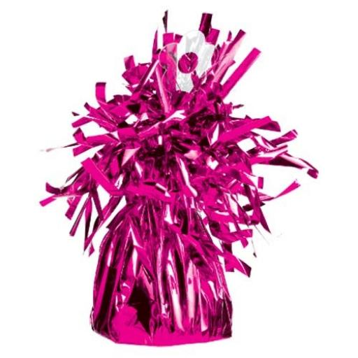 Tassel Balloon Weight Magenta