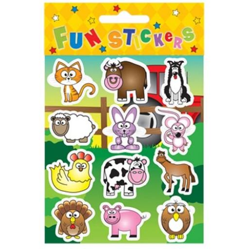 Farm Stickers - Pack of 120
